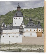 Burg Pfalzgrafenstein In Kaub Germany Wood Print