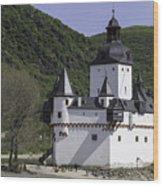 Burg Pfalzgrafenstein Wood Print