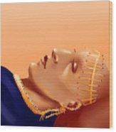 Burial Of The Saint Of The Desert Wood Print