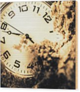 Buried By The Hands Of Time Wood Print
