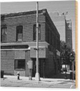 Burlington, Nc - Main Street And Front Wood Print