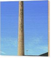 Burlington, North Carolina Factory Wood Print