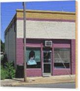 Burlington North Carolina - Small Town Business Wood Print