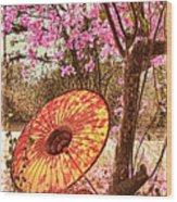 Burmese Spring Wood Print