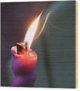 Burn Wood Print