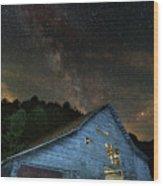 Burn The Midnight Oil Wood Print