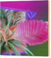 Bursting Forth In Bloom Wood Print