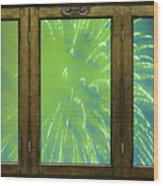 Bursting In Air Wood Print