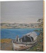 Burwash Landing Yukon Wood Print