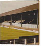 Bury - Gigg Lane - North Stand 1 - 1969 Wood Print