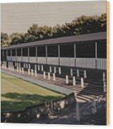Bury - Gigg Lane - South Stand 1 - 1969 Wood Print