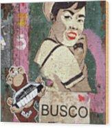 Busco Wood Print