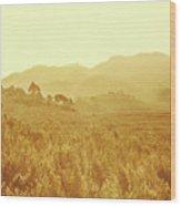 Bushland Of Western Dynamics Wood Print