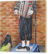 Buskerfest Street Toronto Wood Print
