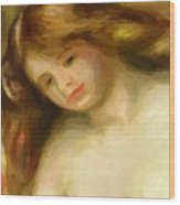 Bust Of A Young Nude 1903 Wood Print
