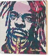 Busta Rhymes Pop Art Poster Wood Print