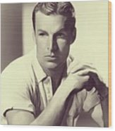 Buster Crabbe, Vintage Actor Wood Print