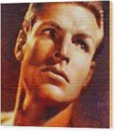 Buster Crabbe, Vintage Hollywood Legend Wood Print