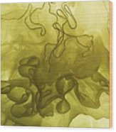 Bustle II Wood Print
