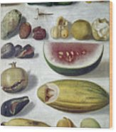 Bustos: Still Life, 1874 Wood Print