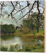 Butlers Retreat Epping Forest Uk Wood Print
