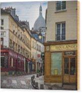 Butte De Montmartre Wood Print
