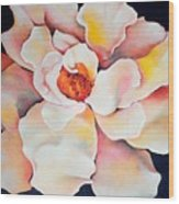 Butter Flower Wood Print