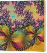 Butterflies 1 Wood Print
