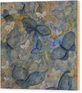 Butterflies And Fairies Wood Print