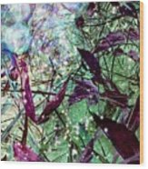 Butterflies At Night  Wood Print
