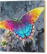 Butterfly - Wood Print
