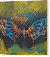 Butterfly 01 Wood Print