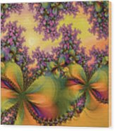 Butterflies 2 Wood Print