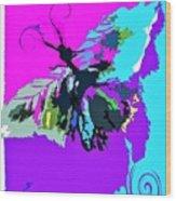 Butterfly Art By Lisa Kaiser Wood Print