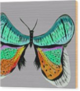 Butterfly Commission Wood Print