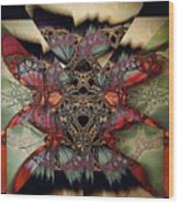 Butterfly Effect 2 / Vintage Tones  Wood Print