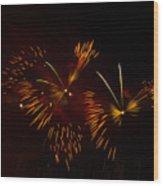 Butterfly Effect Wood Print