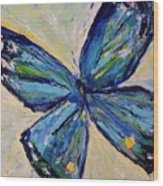 Butterfly I Wood Print
