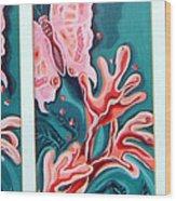 Butterfly Metamorphis Wood Print