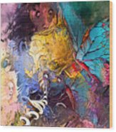 Butterfly Mind Wood Print