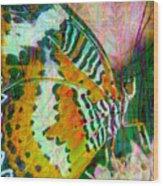 Butterfly Spirit Wood Print