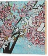 Butterfly Star Magnolia Soulangeana 201825 Wood Print
