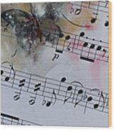 Butterfly Symphony Wood Print