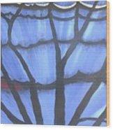 Butterfly Tree 2 Wood Print