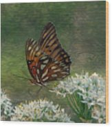 Butterfly Waters Wood Print