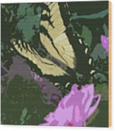 Butterfly's Delight Wood Print