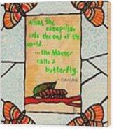 Butterflywhispers3 Wood Print
