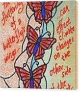 Butterflywhispers4 Wood Print