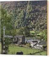 Buttermere Village Wood Print