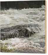 Buttermilk Falls Bubbles Wood Print